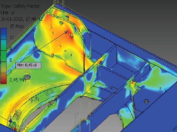 Undervandsudstyr - Beregning - FEM