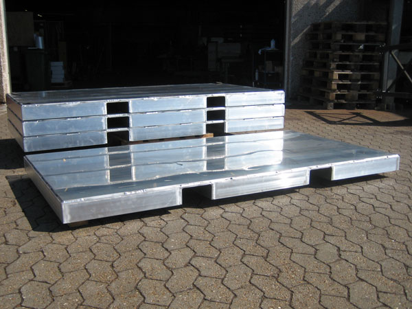 Aluminiumsskids