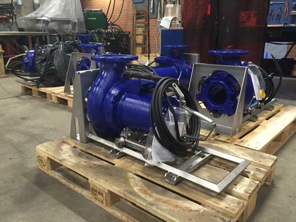 Prototyper udtræksfundamneter til pumper