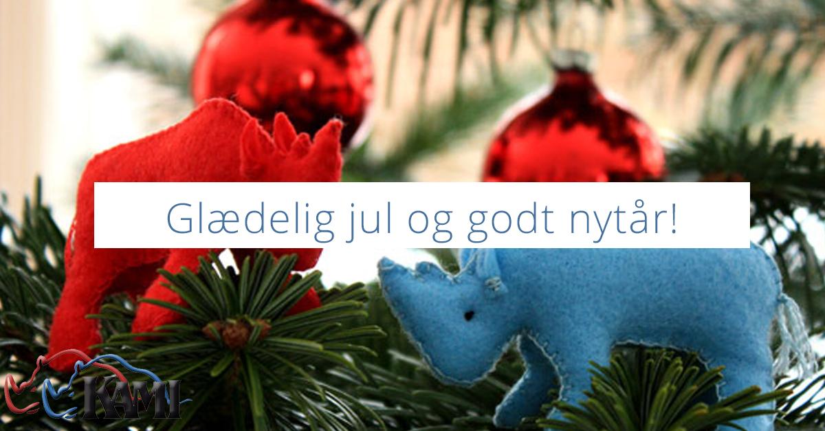 Glædelig jul og godt nytår! - kami