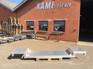 Platform i aluminium