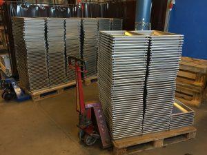 Svejsning af aluminiumspander