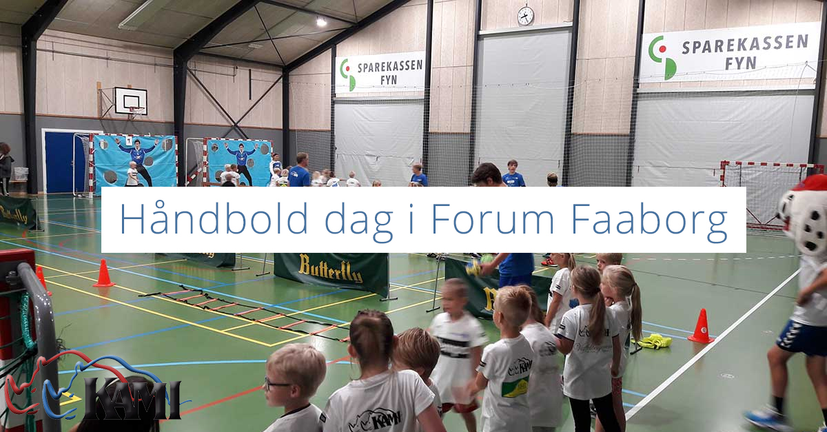 Håndbold dag i Forum Faaborg - Kami