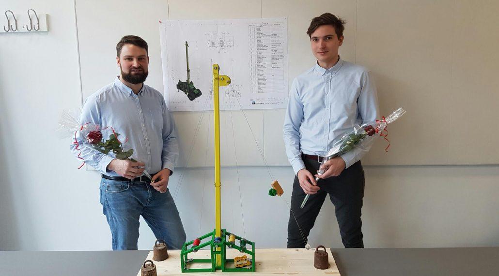 2 nyuddannede maskiningeniører