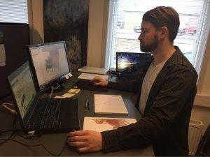 Rasmus arbejde med mekanisk konstruktion