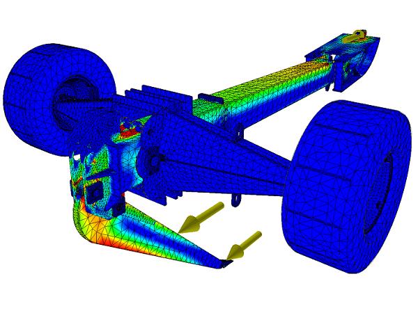 FEM beregning af stålkonstruktion