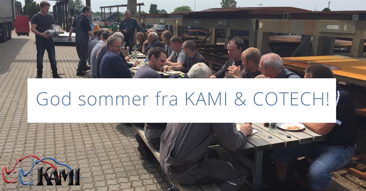 God sommer fra KAMI & COTECH!