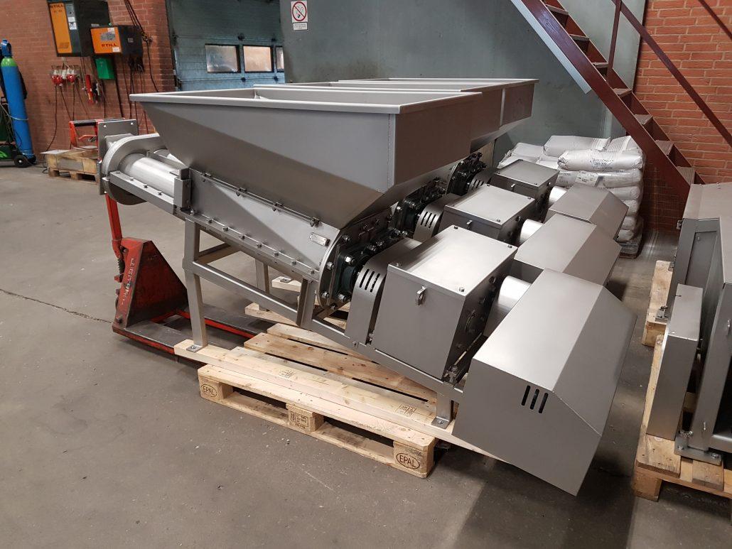Rustfri maskiner klar til afsendelse