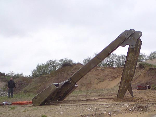 Stor konstruktion i højstyrkestål