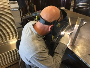 TIG-svejsning i aluminium