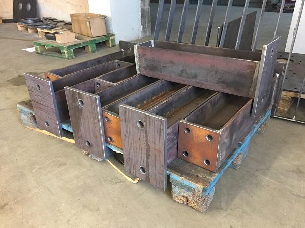 Sourcing af stålemner - klar til overfladebehandling