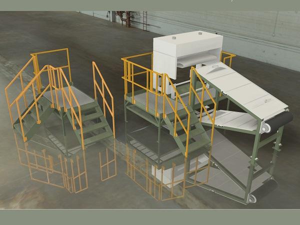 Visualisering af trappe og repos