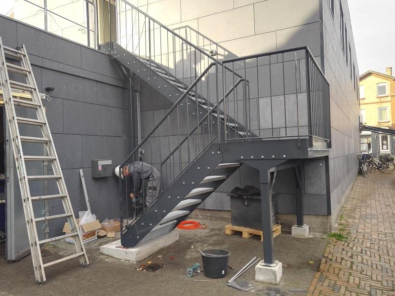 Montage af trappe