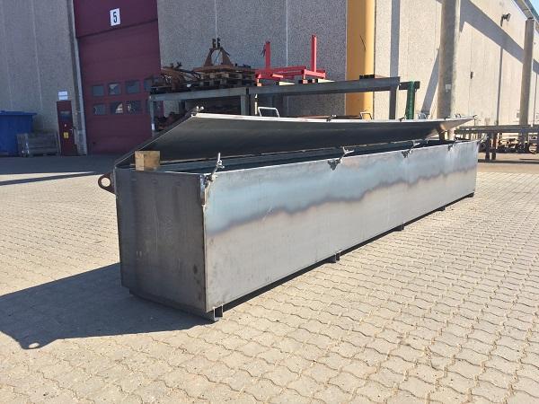 Mobil stålkonstruktion til opbevaring